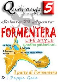 quaranta5 formentera party